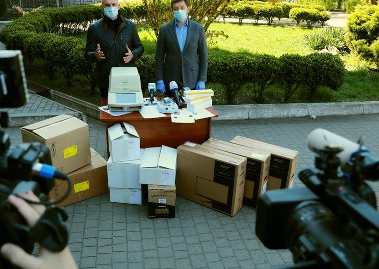 Запорізька область отримала тест-систему для досліджень хворих на коронавирус