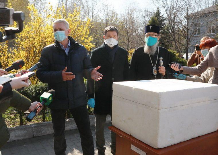 Запорожская область получила партию тестов для выявления коронавируса