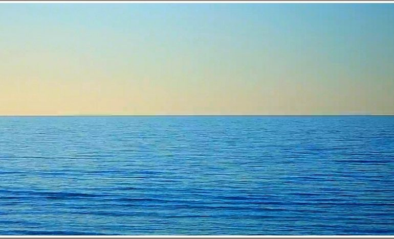 Утро в Запорожской области на Азовском море (фото)