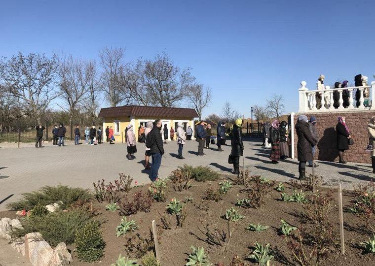 Как в Бердянске отмечали Вербное воскресенье (фото)