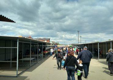 Карантин пошел на пользу покупателям запорожского овощного рынка