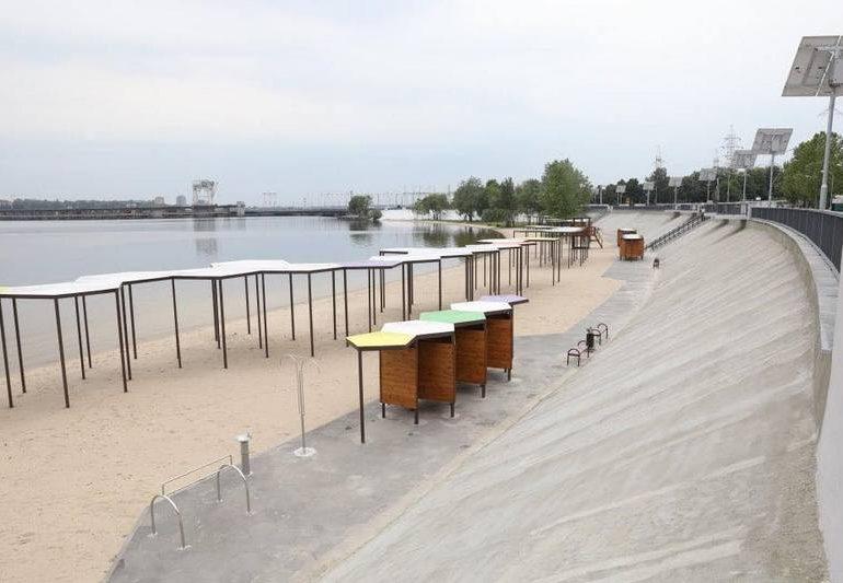 Запорожцы в июне получат обновленный Правобережный пляж (фото)