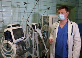 В Запорожья 9-я горбольница получили четыре аппарата ИВЛ