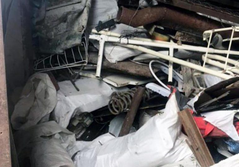 У Запоріжжі поліцейські вилучили більше 2 тон металобрухту