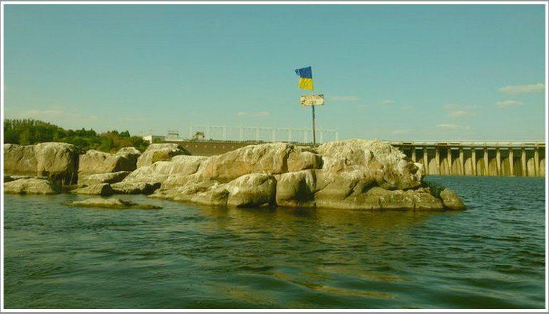 Днепровские пороги, похоже, поднимаются, и это Запорожью грозит бедой