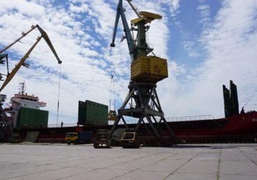 Бердянский порт принял импортный груз зерновых