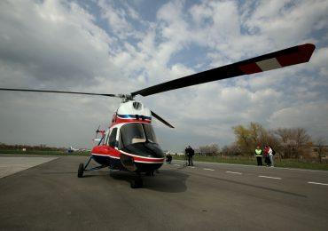 """Первый украинский вертолет МСБ-2 """"Надія"""" в небе (фото, видео)"""