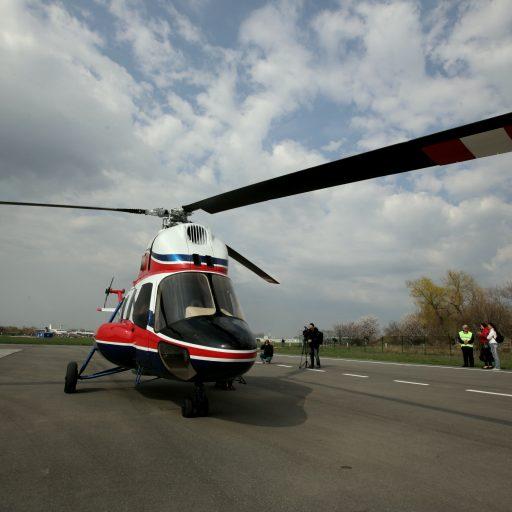 Первый украинский вертолет МСБ-2 «Надія» в небе (фото, видео)