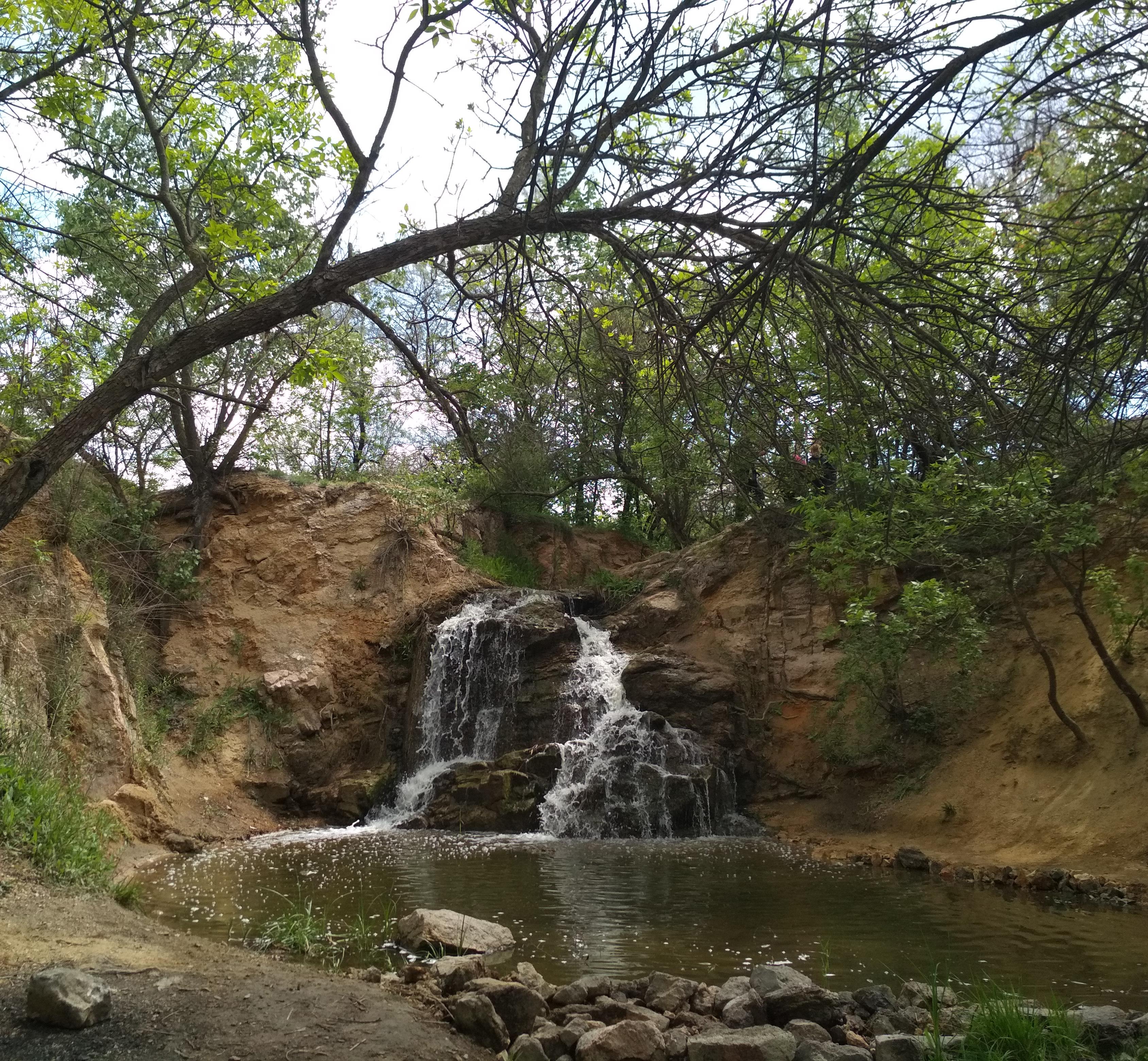 водопад село Вольнянка картинки