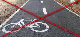 Ні шматочка велодоріжки на запорізькій набережній цього року не буде
