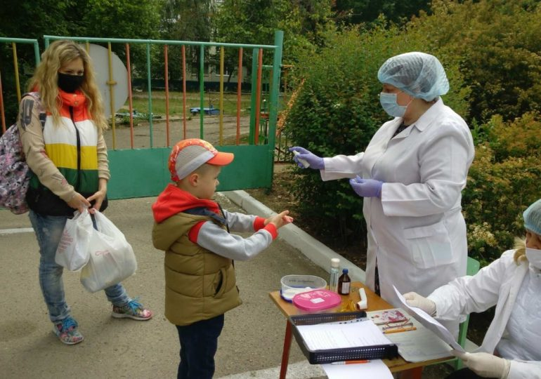 У Запорізькій області після карантину відкрилося 248 дитсадків