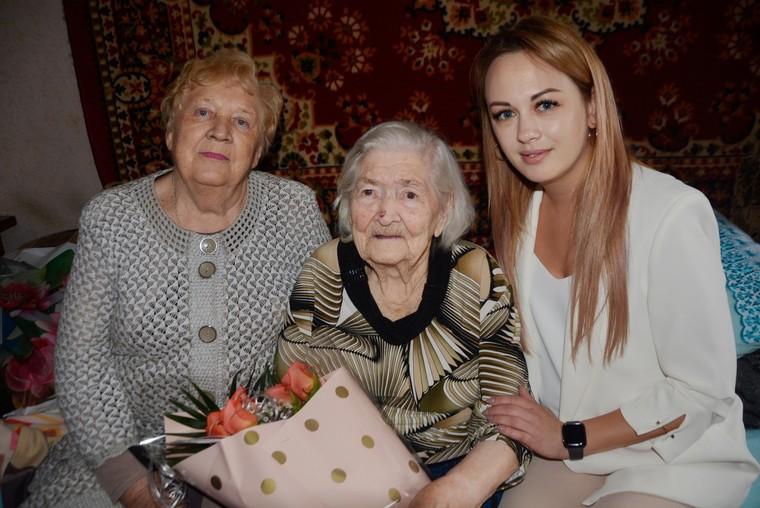 Жительнице Энергодара исполнилось 102 года
