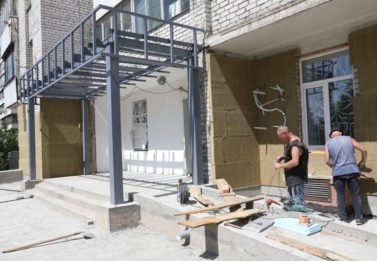 В Запорожье завершается строительство филиала Центра предоставления админуслуг