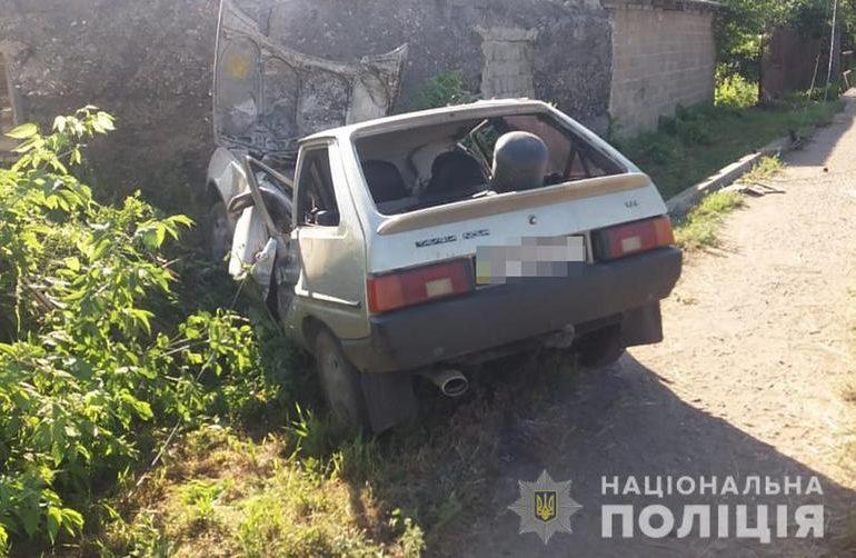 На Запоріжжі поліція встановлює обставини двох ДТП з постраждалими