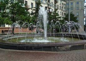 В Запорожье в полную силу заработали фонтаны на площади Поляка
