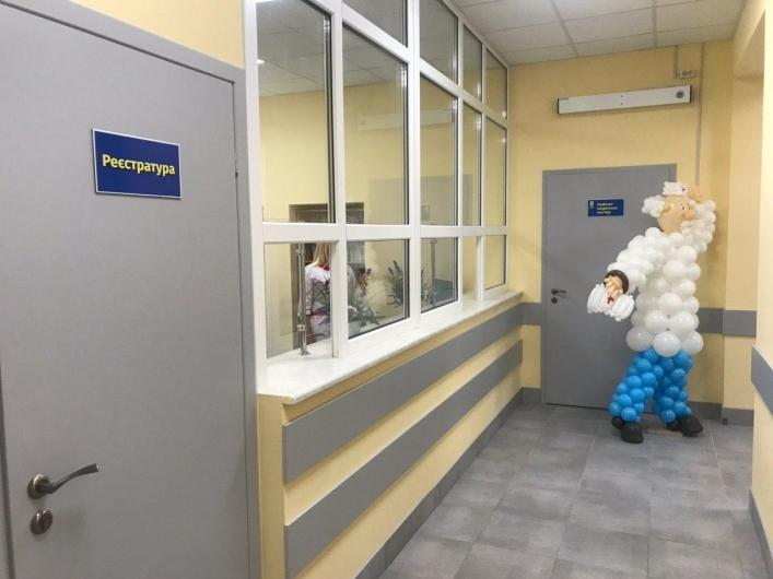 В Мелитополе амбулаторию для детей оформили в мультяшном стиле