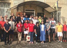 Запорожцы присоединились к марафону «Перемога у нас в крові»