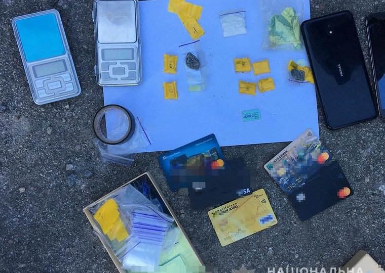 У Мелітополі поліцейські викрили розповсюджувача психотропних речовин
