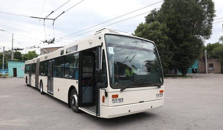 В Запорожье троллейбусным сообщением соединят Хортицкий район с Бородинским микрорайоном