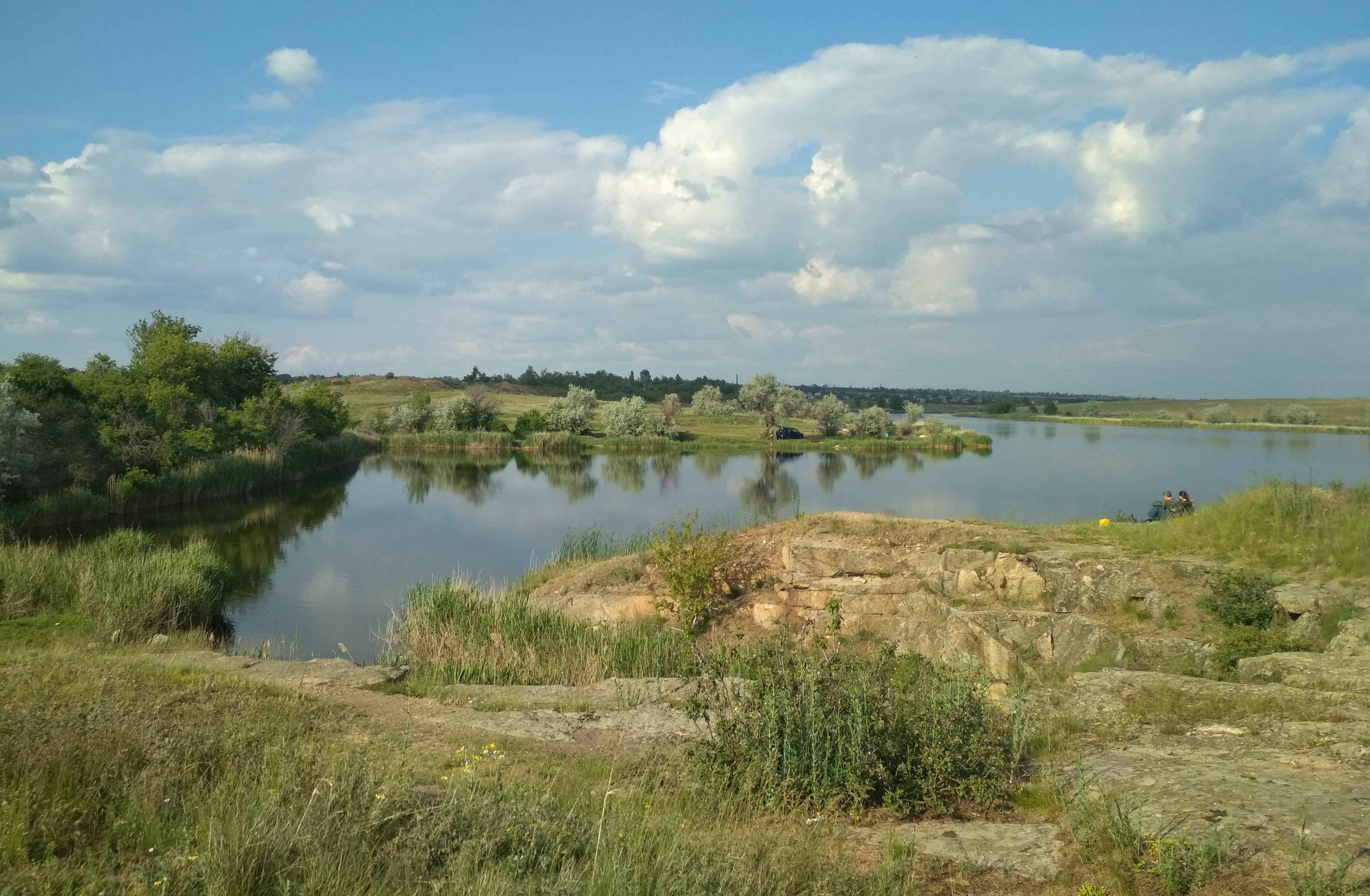 речка Мокрая Московка рисунок