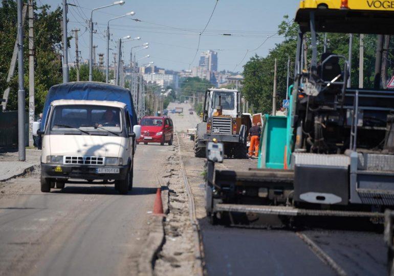 В Запорожье работают над восстановлением трамвайного маршрута №12 (фото)