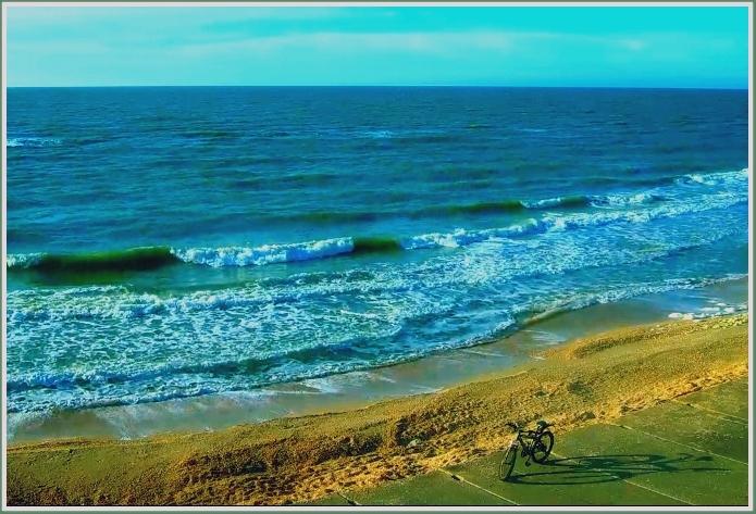 Утро на море в запорожской Кирилловке (фото)