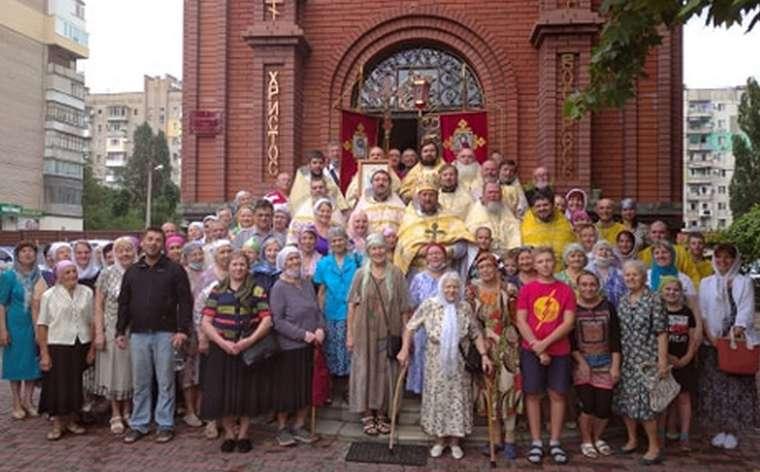 В Мелитополе отслужили соборную Божественную литургию