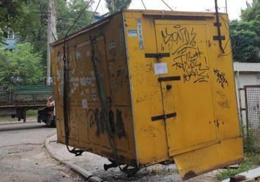 В Запорожье демонтировали  два незаконных МАФа