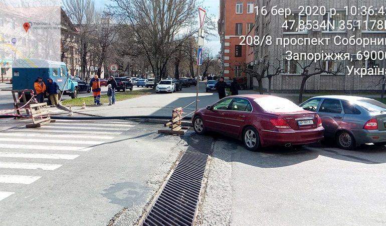 В Запорожье инспекторы службы по парковке отстаивают справедливость штрафов в суде