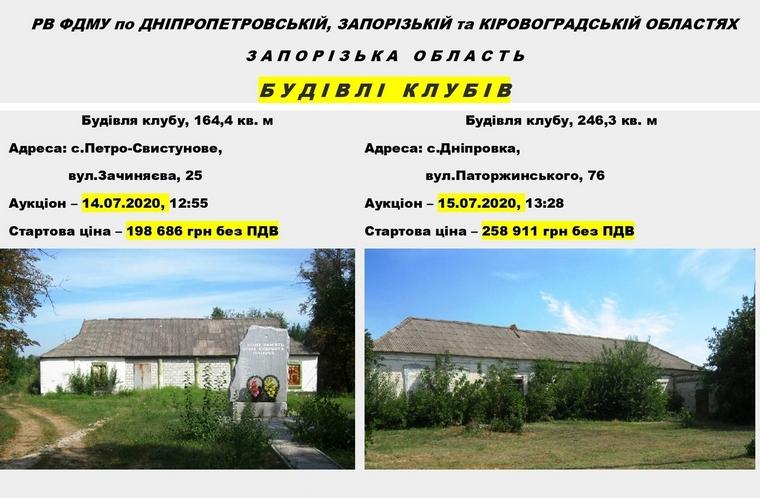 В Запорожской области ищут инвесторов для сельских клубов