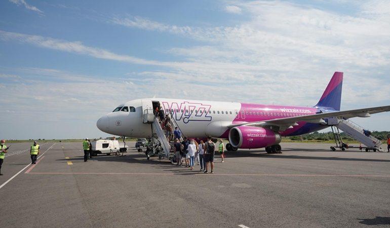 Лоукост Wizz Air выполнил первый рейс из запорожского аэропорта