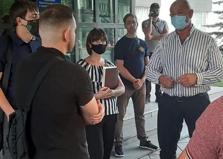 Представники «Національного корпусу» зустрілися з очільником поліції Запорізької області