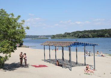 В Запорожье появится еще один современный пляж