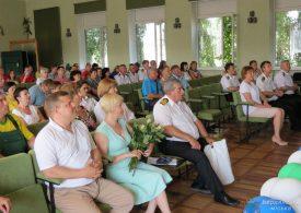 Працівники Бердянського порту святкують 190-річчя з дня заснування підприємства