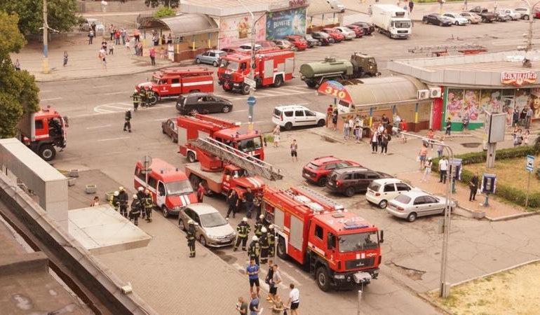 Займання у готелі Intourist hotel Zaporizhzhya ліквідували до прибуття рятувальників