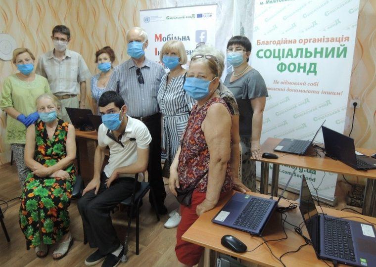 В Мелитополе пенсионеров учат быть блогерами