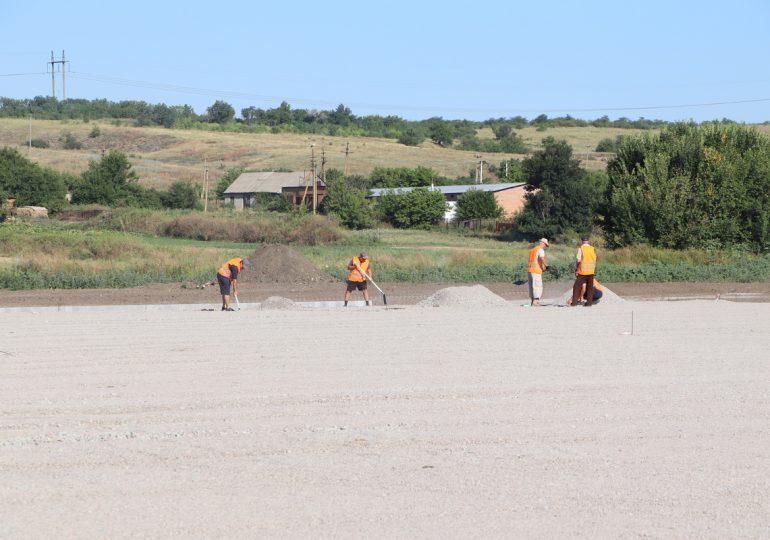 В запорожском селе реконструируют стадион и учебно-воспитательный комплекс