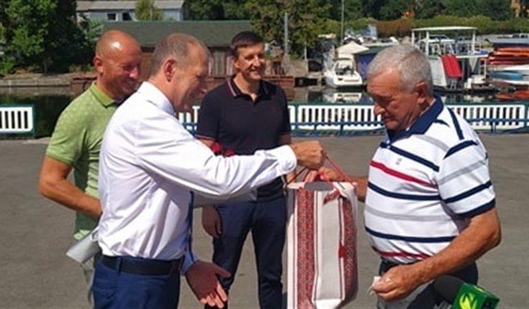 В Запорожье Заслуженного тренера Украины поблагодарили за многолетний труд
