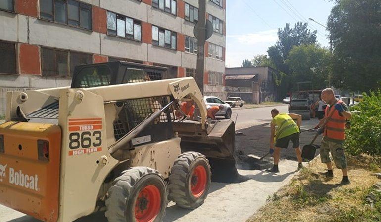 В Запорожье появится еще один обновленный тротуар