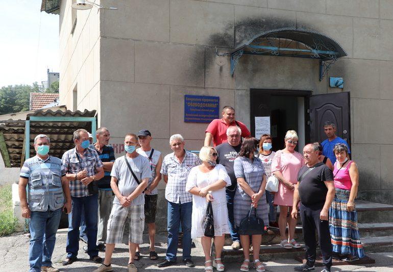В Запорожской области работники водоканала собираются перекрыть трассу