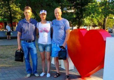 В Бердянске привели в порядок фотозону  в центре города