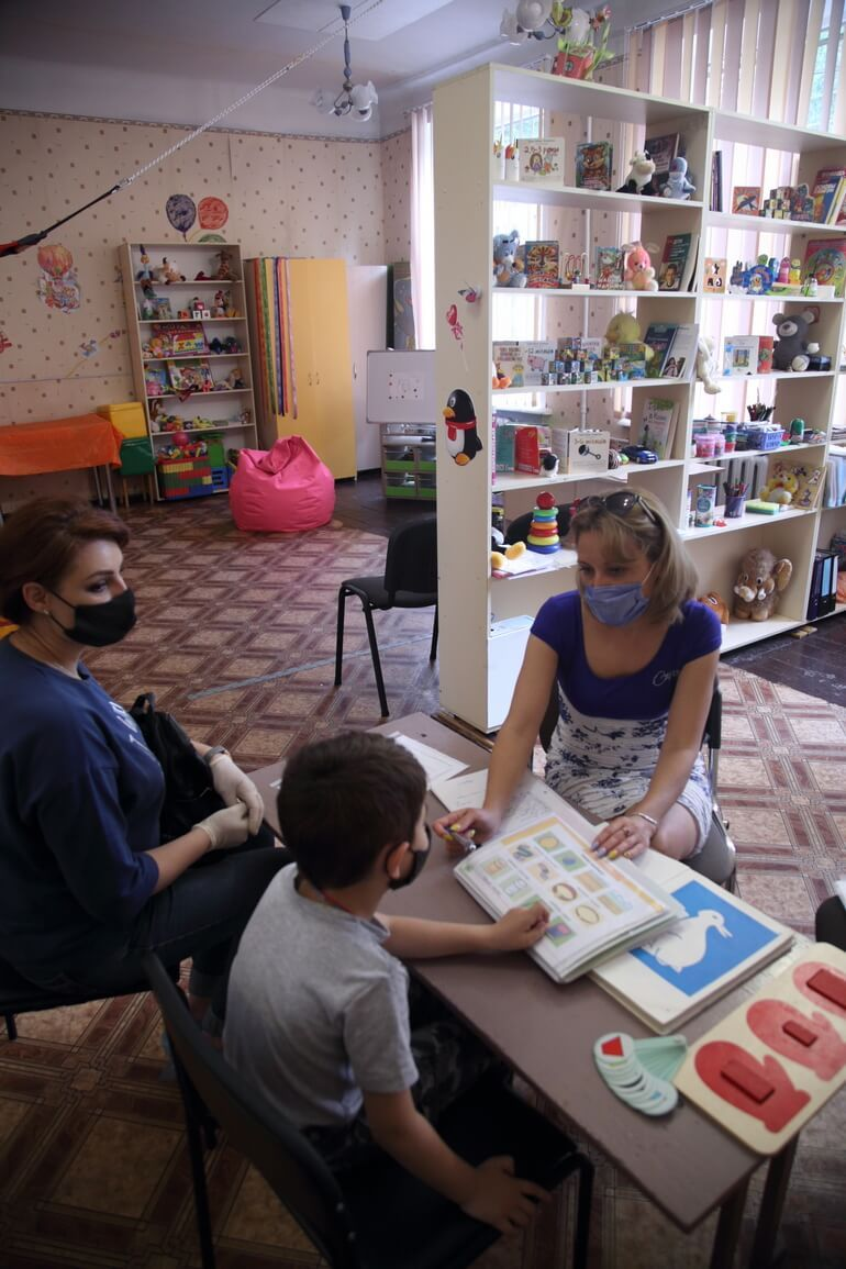 Запоріжжя інклюзивно-ресурсний центр Дніпровського району фото