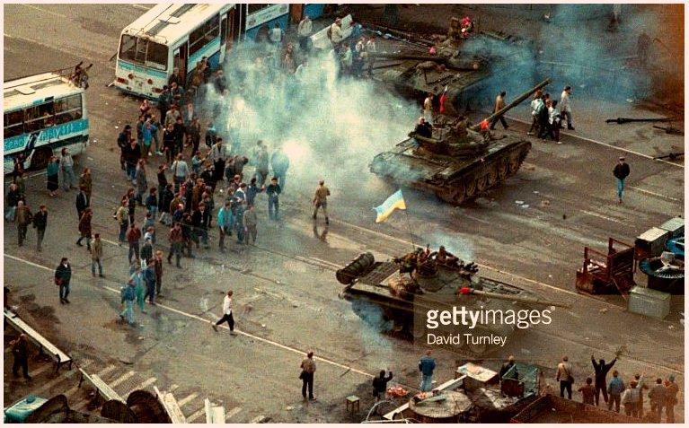 В августе 91-го: Запорожье-Москва