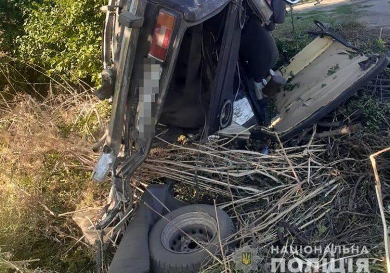 На Запоріжжі поліція встановлює обставини смертельної дорожньо-транспортної пригоди