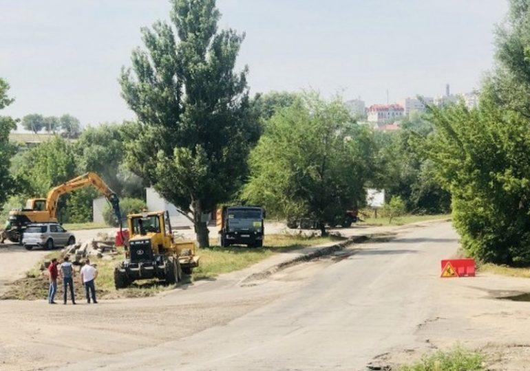 Ремонтируют автодорогу Запорожье-Беленькое