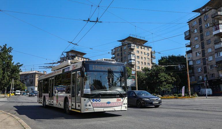 В Хортицкий район 1 сентября можно будет попасть троллейбусом