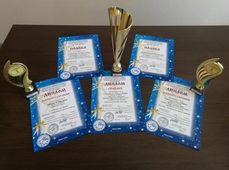 Колективи Кирилівки отримали одразу два Гран-прі на Міжнародному фестивалі-конкурсі