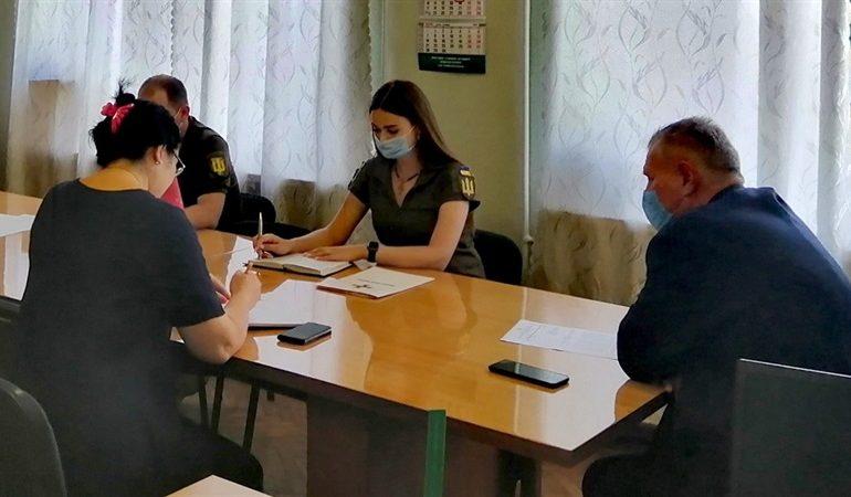 В Запорожье провели совещание с представителями военкомата