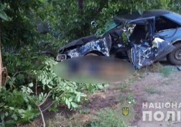 На Запоріжжі в наслідок ДТП загинув водій легковика