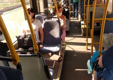 В Запорожье новый автобусный маршрут в аэропорт пользуется большим спросом